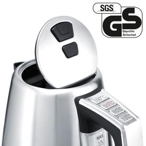 Wasserkocher mit Temperaturwahl